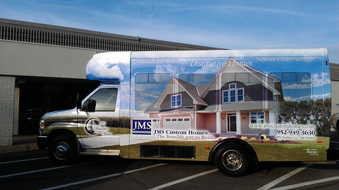 JMS Custom Homes Bus