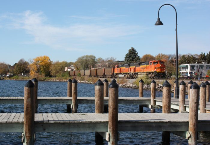 The beautiful docks of Wayzata Bay!